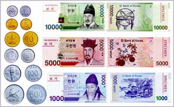 1 tỷ won hàn quốc bằng bao nhiêu tiền Việt Nam