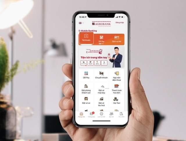 Tra số tài khoản trên mobile banking