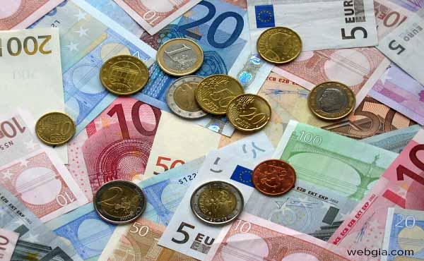 Đồng Euro còn gọi là đồng tiền chung Châu Âu