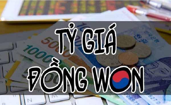 1000 won bằng bao nhiêu tiền Việt?