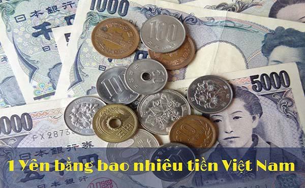 Theo bạn 1000 Yên bằng bao nhiêu tiền Việt Nam?