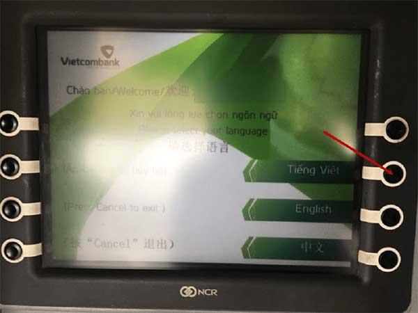 chuyển tiền tại ATM