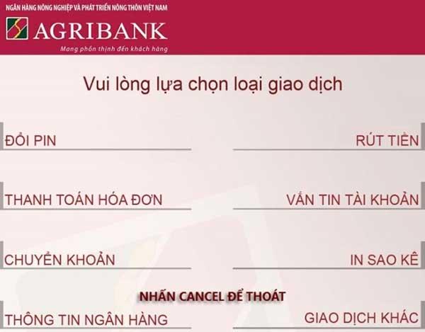 Lảm thẻ ATM ngân hàng Agribank
