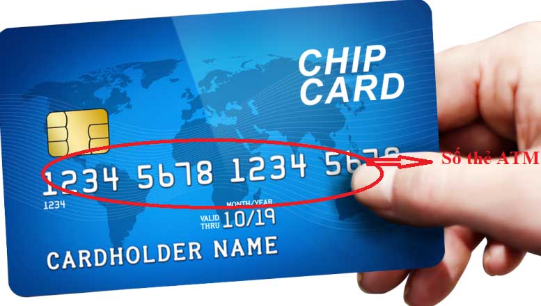 Phân biệt số thẻ ATM và số tài khoản