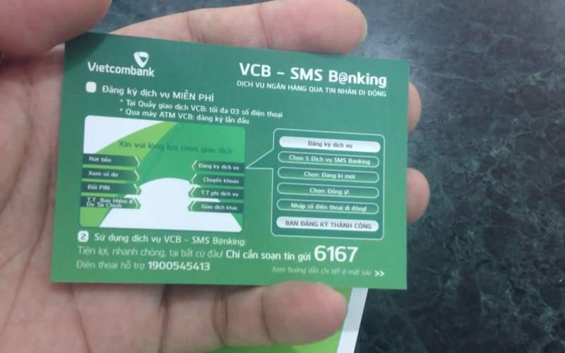 Tra cứu thông tin nhanh chóng với SMS Banking Vietcombank