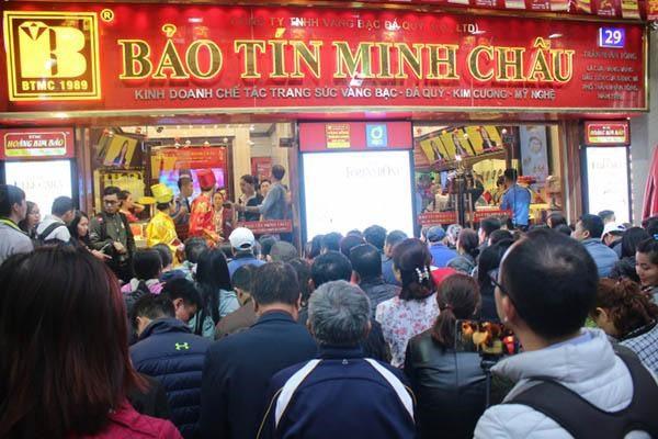 Bảo Tín Minh Châu là địa chỉ mua vàng bạc uy tín tại HN