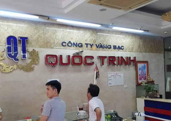 Đổi ngoại tệ tại tiệm vàng Quốc Trinh Hà Nội