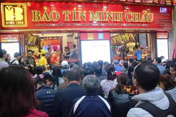 Đổi ngoại tệ tại Bảo Tín Minh Châu Hà Nội