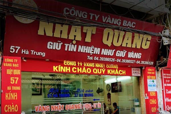 Địa chỉ đổi tiền tại phố Hà Trung